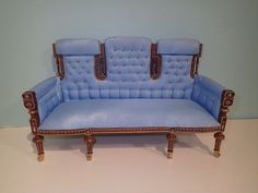1/6 scale Chinois sofa chesterfield lounge for 12 inch or 14