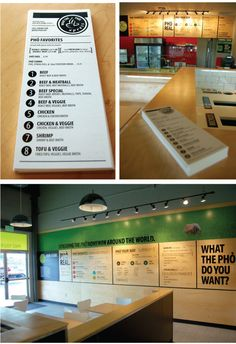 WHAT THE PHO XPRESS, a fast casual design by DYNAMIK http://dynamikspace.com/index.php5