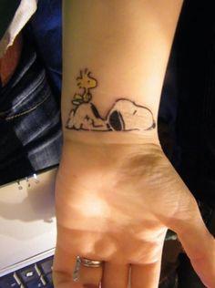 Snoopy tat