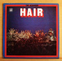 THE AQUARIUS Hair UK Vinyl LP Marble Arch MALS 1156 - Frank Mills Donna Air RARE