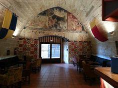 En el Parador de Alcañiz es bonita hasta la cafeteria #sienteTeruel