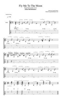 Guitar Tabs And Chords, Guitar Tabs Acoustic, Ukulele Chords, Sheet Music Pdf, Guitar Sheet Music, Guitar Solo, Fingerstyle Guitar, Classical Guitar, Music Theory
