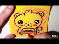 How To Draw A Cute Bear -Easy and Kawaii Drawings by Garbi KW