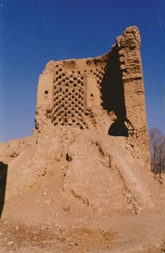 Pigeons tower Esfahan