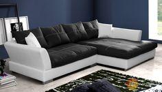 Moderní rohová sedací souprava Libereta s polštáři #sofa #divan #settee #couch