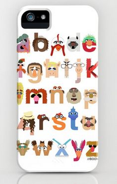 Muppets iPhone case! (How can you not love a Muppets iPhone case?)