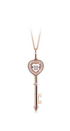 #key #pendant #Liali #lialijewellery #jewellery  #rosegold #diamond #love #gift #celebration