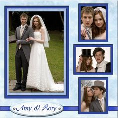 Rory & Amy's wedding! Love the dress