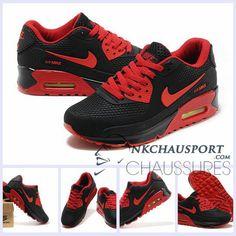 Nike Air Max Lunar 90 Sp | Meilleur Chaussures Running Homme Portugal Rouge/Vert 02 | nkchausports | Air Max Homme | Pinterest | Air max and Air max 90
