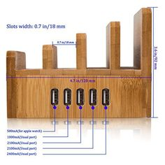 Bilderesultat for charging station bamboo