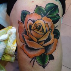 My Tattoos: Every Rose Has Its Thorn