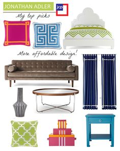 belle maison: Marketplace :: Happy Chic by Jonathan Adler for JC Penny