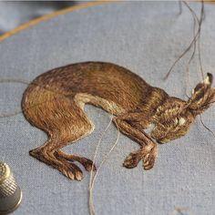 Embroidery @chloegiordano_embroidery