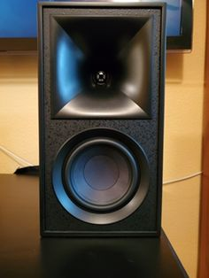 The Klipsch Fives are a complete audio system that includes everything the buyer needs to bring great sound to the home or office. Read more from our latest review! #Klipsch #Audio #AudioSystem Bookshelf Speakers, Audio System, Apple Tv, Remote, Pilot