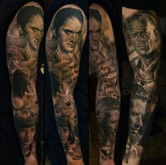 Impressive sleeve by Den Yakovlev!