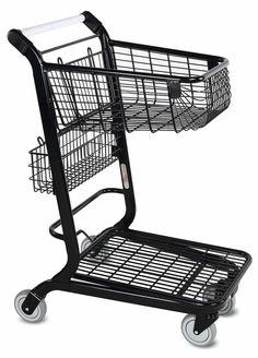 Modern Liquor Store Shopping Cart