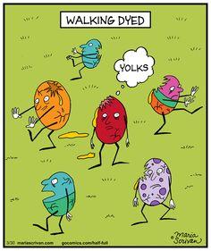 Half Full Comic Strip on GoComics.com | Zombie humor