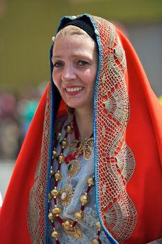 Costumi tipici - Cagliari #Sardinia #Italy
