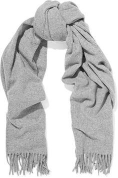 ACNE STUDIOS Canada fringed wool scarf.  acnestudios  scarves   Outdoorexercise Acne Scarf, 999b409b33c