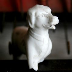frozen charlotte animals   ... Bisque Adorable DUG Up Animal Figure Frozen CHARLOTTES Pet Dog XYZ