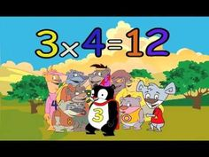 "3 TIMES TABLE MULTIPLICATION SONG - FROM ""THE NUMBEARS MULTIPLY!"" CD BY PHIL SNYDER"