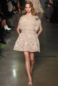 Elie Saab Spring 2015 Couture Fashion Show - Sasha Luss (Elite)