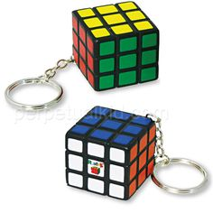 RUBIK'S STRESS BALL KEY CHAIN