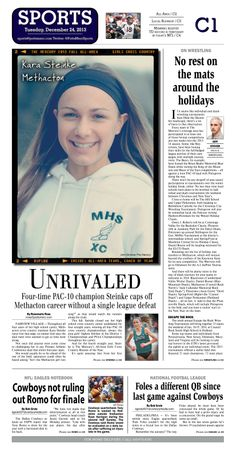 Methacton's Kara Steinke was named the 2013 All Area Girls Cross Country Player of the Year for the fourth year in a row. http://www.gametimepa.com/mont-bucks/ci_24784949/girls-cross-country-methactons-steinke-becomes-four-time