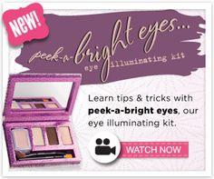 #benefitglam peek-a-bright eyes > Benefit Cosmetics