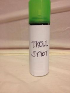 Frozen Birthday party. Troll Snot. Silly String