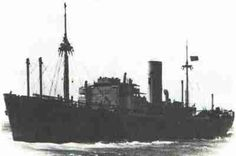 German Commerce Raider, Atlantis. Masquerading as a Merchant ship, the Atlantis sank 16 ships and captured six others before her career was ended by HMS Devonshire.