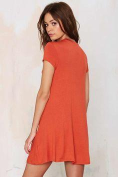the throw-on everyday kinda dress