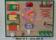 Tablica manipulacyjna- Montessori