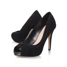 larissa, black shoe by carvela kurt geiger - brands carvela kurt geiger