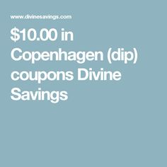 photo regarding Printable Tobacco Coupons titled Copenhagen tobacco printable discount codes : Coupon optimistic for one particular no cost