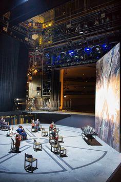Backstage / Photo Credit: Oliver Dietze #staatstheatersaarland