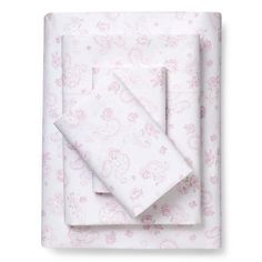 * Target-Quality is apparent in the lovely Ditsy Sheet Set from Shabby Chic. This set of bed sheets has mercerized cotton for a gorgeous luster and then double turned hems finish off this dainty floral design.<br><br>We're committed to making products better for you, and the world. This product is Standard 100 by OEKO-TEX certified, meaning that everything from the dyes and fabrics to accessories like buttons and zippers are tested and verified as free from harmful levels of more...