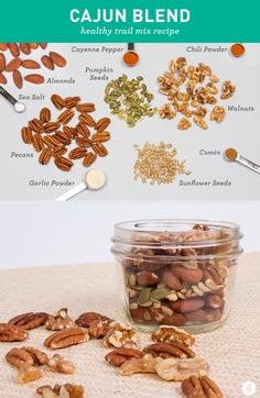Trail Mix: 21 Healthy, Tasty Trail Mix Recipes to Make Yourself | Greatist #weightlossmotivation