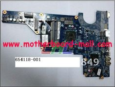 Replacement for HP 654118-001 Laptop Motherboard