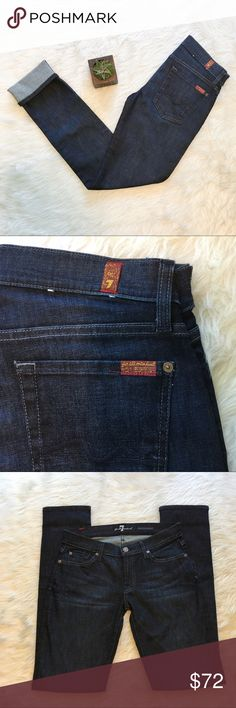 🆕7 for all Mankind Roxanne Skinny Dusty Charcoal 7 for all Mankind Roxanne skinny in dusty charcoal. Size 28 with 32' inseam. EUC. These are in perfect condition! Maybe worn twice! ❌No trades ❌ Modeling ❌No PayPal or off Posh transactions ❤️ I 💕Bundles ❤️Reasonable Offers PLEASE ❤️ Bundle & SAVE❗️❗️ 7 For All Mankind Jeans Skinny