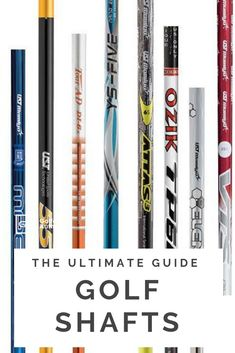 Are you looking for a new Golf Shaft to help you take your game to the next level. Check out our latest guide to find the right one for you. Golf Basics, Golf Shafts, Golf Score, Golf Chipping, Golf Instruction, Golf Putting, Golf Exercises, New Golf, Golf Training