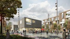 Krebsestien Nursing Home and Community Centre in Esbjerg, Denmark, by C. Internal Courtyard, Residential Complex, Senior Activities, The Locals, Denmark, Health Care, New Homes, Nursing Homes