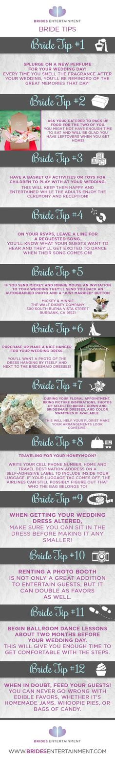 12 Bride Tips You Ne