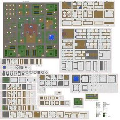 Minecraft villiage plans by falcon01