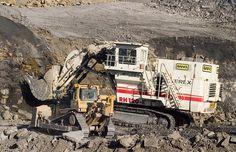Terex and Cat Bulldozer Mining Equipment, Heavy Equipment, Cat Bulldozer, Bucyrus Erie, Tonka Toys, Old Tractors, Big Trucks, Monster Trucks, Around The Worlds