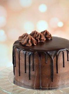 Nutellás torta csurgatva recept Hungarian Cake, Hungarian Recipes, Sweet Recipes, Cake Recipes, Sweets Cake, Dessert Decoration, Chocolate, Cakes And More, Party Cakes
