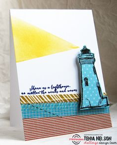 Card by Tenia featuring True North