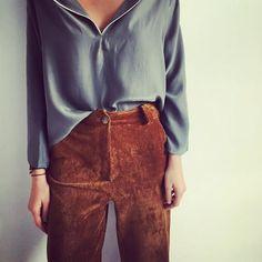 "59 Likes, 3 Comments - PIETRA | Concept Store (@pietra.madrid) on Instagram: ""Pantalón de pana Oliva Nos encanta!!! @valentinagari """