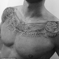 Artistic: Connor Wickham shared a picture of his new tattoo on Instagram