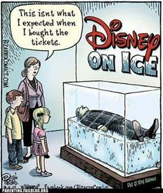 That's the rumour .. somewhere in a cryogenic vault ..maybe that's what inspired Frozen